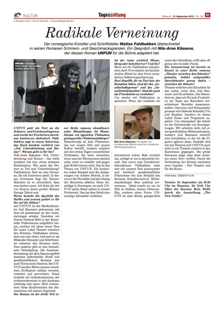 InterviewTageszeitung